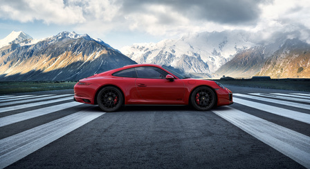 The new 911 Carrera GTS. Driven for more.