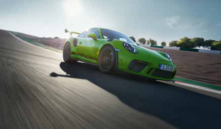 The new 911 GT3 RS.